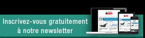 Inscrivez-vous gratuitement à notre newsletter